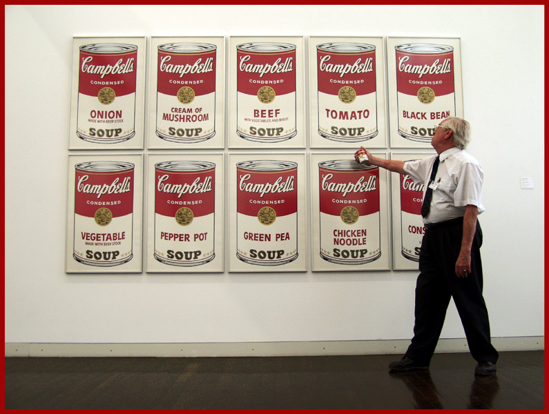Herr Krämer meets Andy Warhol ...