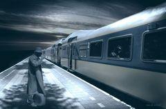 Herr Waldmann geht weg für eine Reise