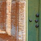 Herrajes de una puerta