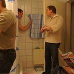 """""""Herren im Bad"""" oder """"Los Jungs, wir müssen zur Arbeit"""""""