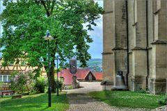 Herrenberg - An der Stiftskirche (HDR)