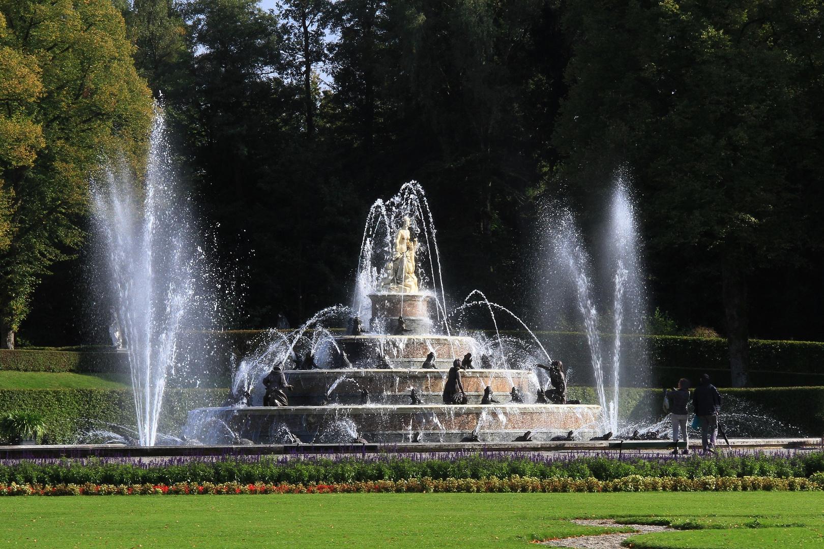 Herrenchiemsee - Latona-Brunnen