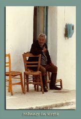 Herrenleben auf Kreta