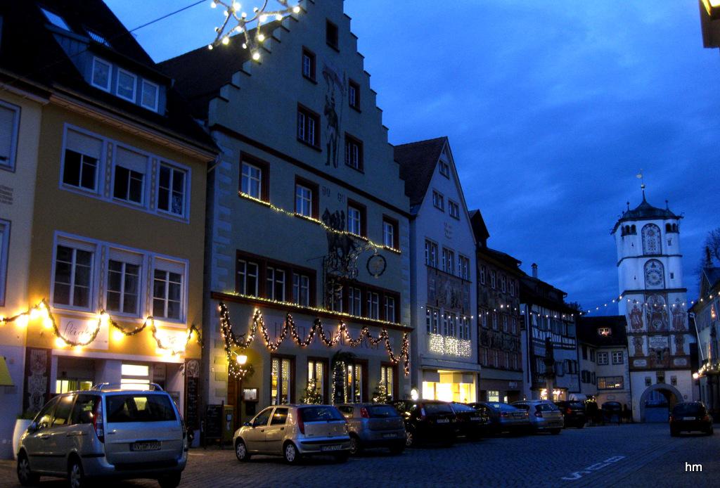 Herrenstraße Wangen am dritten Advent