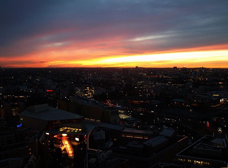 Herrlicher Ausblick in Berlin