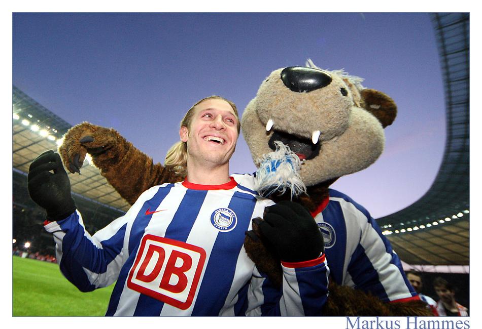 Hertha auf Platz 1