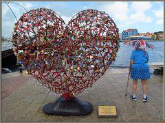 Herz für Curacao