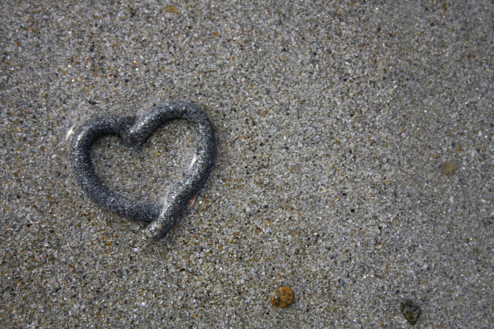 Herz im Watt (Fund)