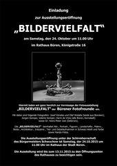 """""""Herzliche Einladung!"""" von den Bürener Fotofreunden"""