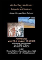"""Herzliche Einladung zum Besuch der Ausstellung """"Alte Schriften / Alte Meister"""""""