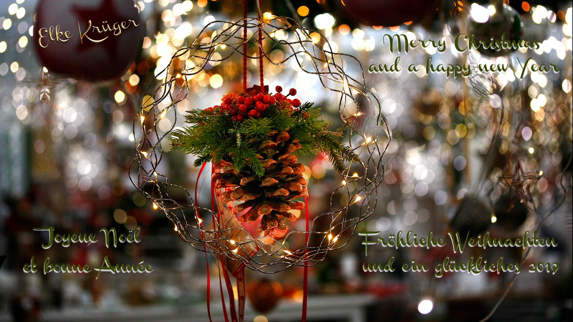 Herzliche Grüße Foto & Bild | weihnachten, lichter