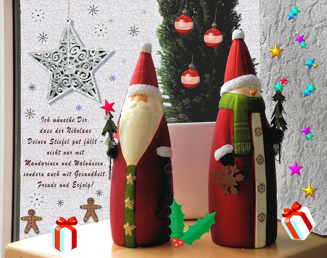 herzliche gr e zum nikolaus foto bild weihnachten. Black Bedroom Furniture Sets. Home Design Ideas