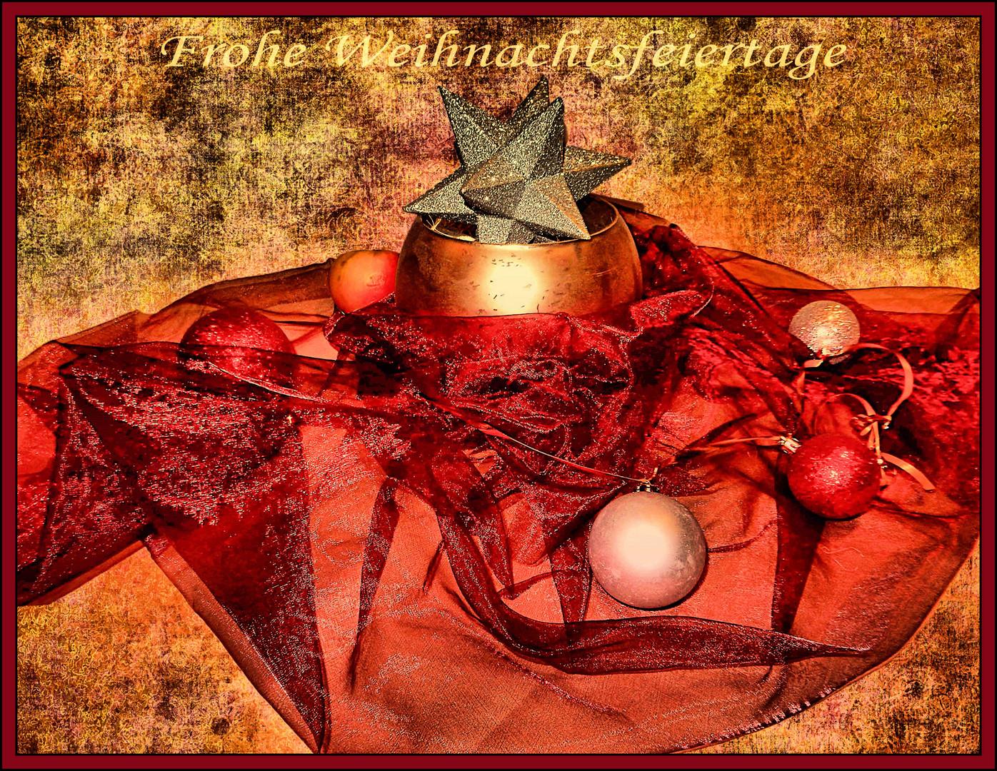 Herzliche Weihnachtswünsche.Herzliche Weihnachtsgrüße Foto Bild Spezial Digiart Kerze