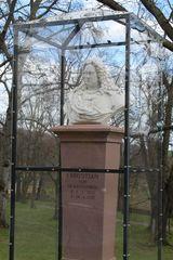 Herzog Christian hat ein schützendes Plexiglashaus erhalten