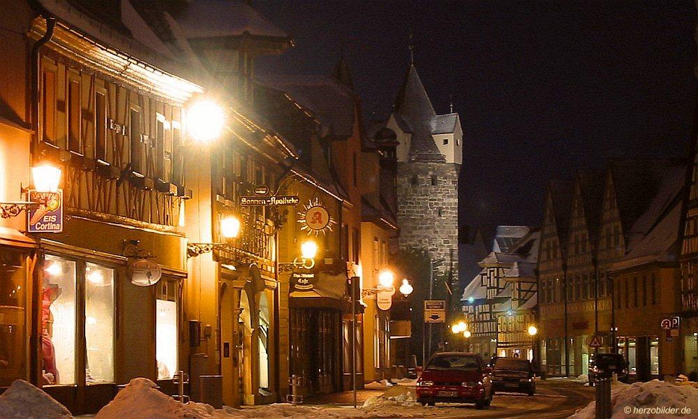 Herzogenaurach bei Nacht