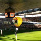 Hessen's größtes Public Viewing im Frankfurter Waldstadion - EM 2008 Finale