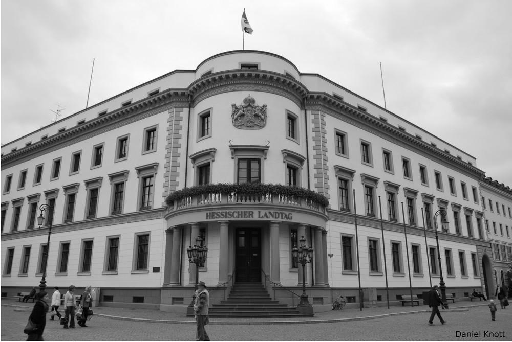 Hessischer Landtag Wiesbaden Oktober 2008