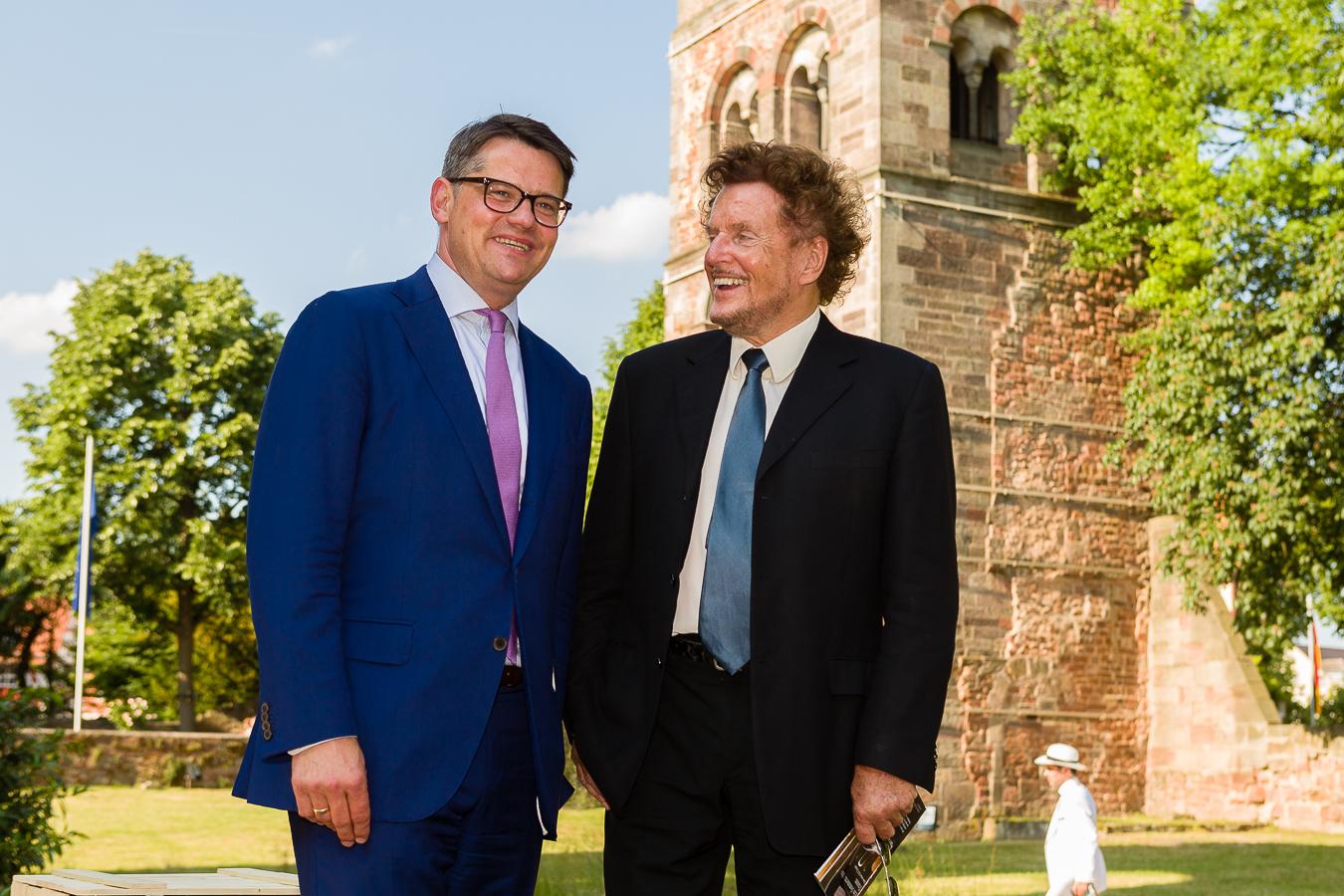 Hessischer Wirtschaftsminister besucht Bad Hersfelder Festspiele
