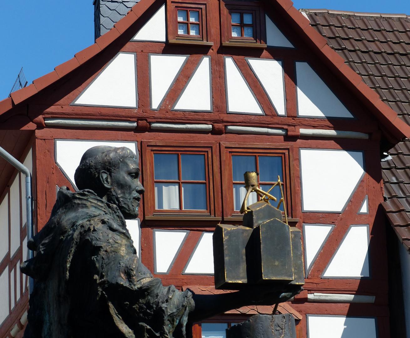 Hessisches Highlight: Dom- und Kaiserstadt Fritzlar. August 2016