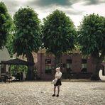 Het grote dorpsplein