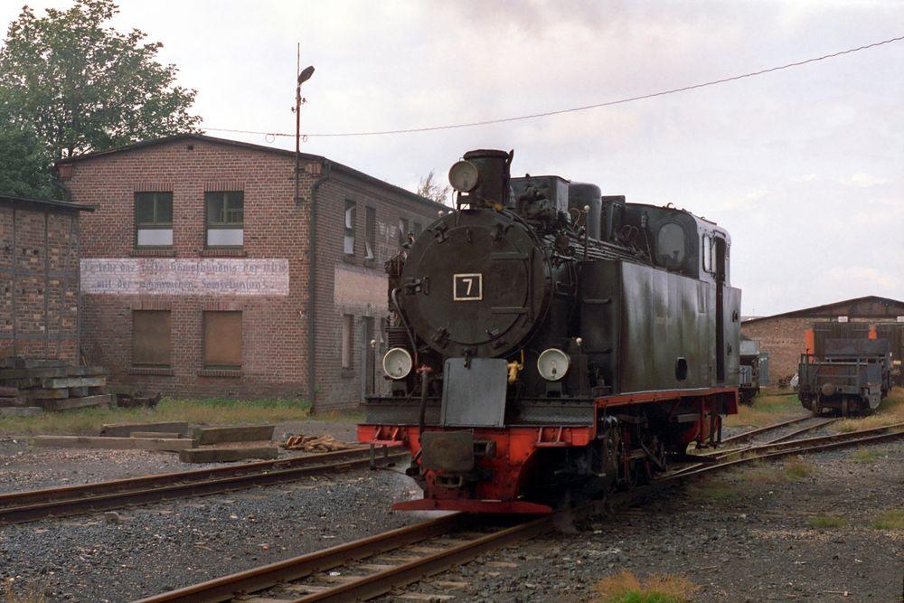 Hettstedt, Mansfelder Bergwerksbahn Lok 7
