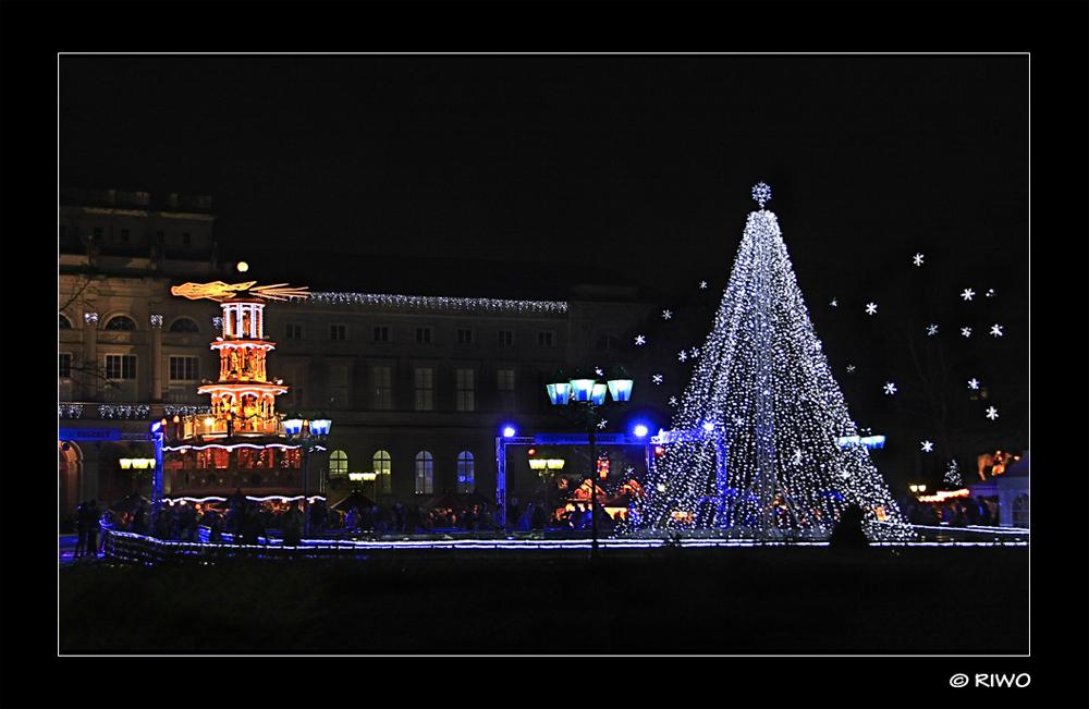 heute Abend am Weihnachtsmarkt.........