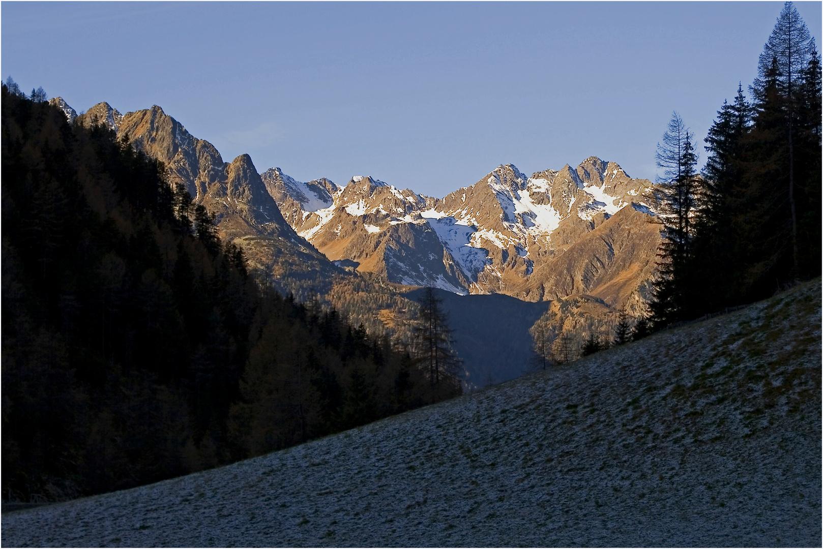 heute am Weg zur Winnebachseehütte....wer geht mit ? .. es wird ein Traumtag