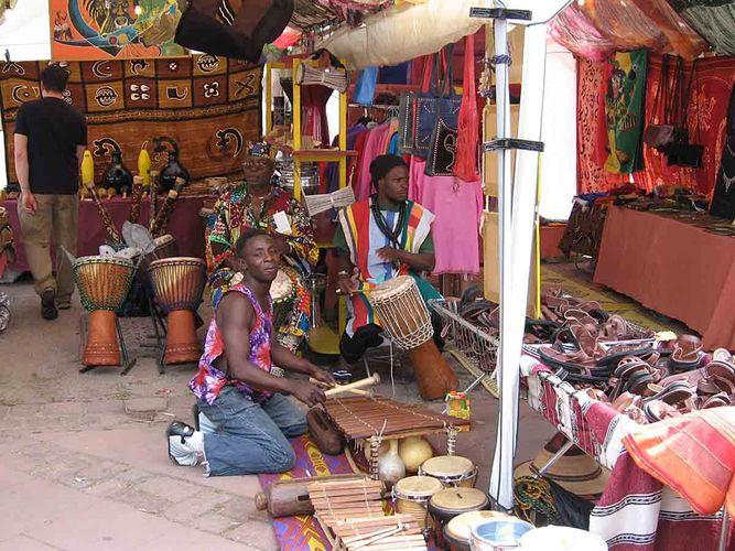 Heute auf dem Afrika-Markt ... (1)