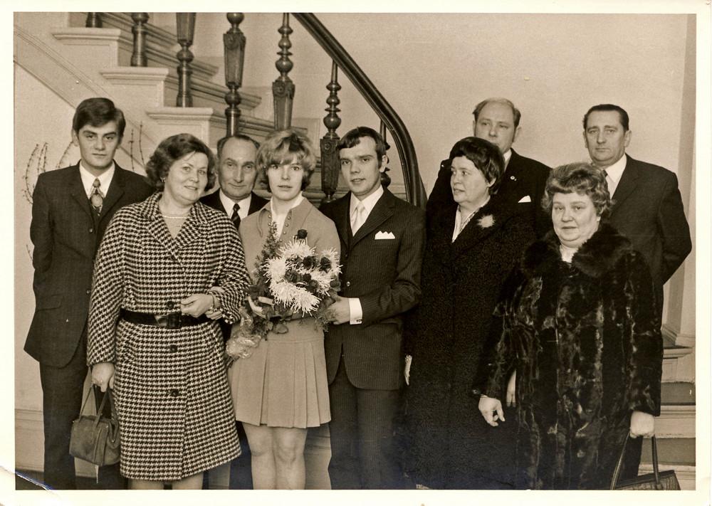 Heute genau vor 38 Jahren haben meine mum und mein dad geheiratet