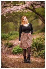 Heute im Garten des Leopardenweibchens