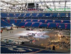 heute in der Veltins Arena, Vorbereitung auf den Boxkamp von Klitschko