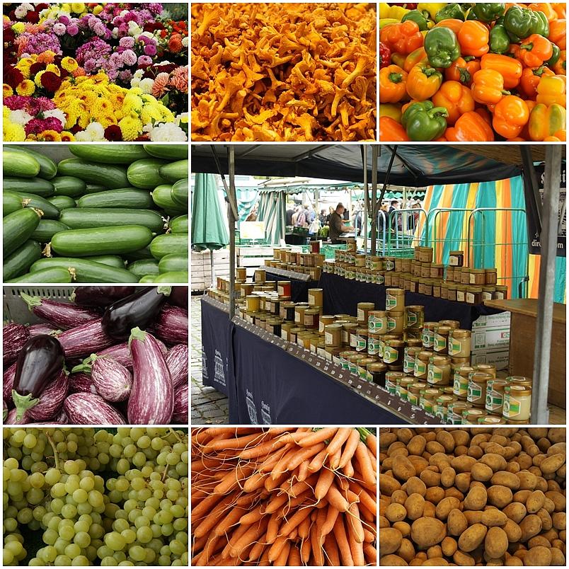 Heute ist Markttag