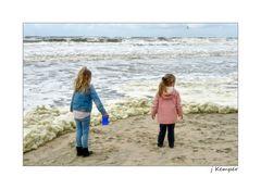 - heute ist Schaum-Tag an der Nordsee -