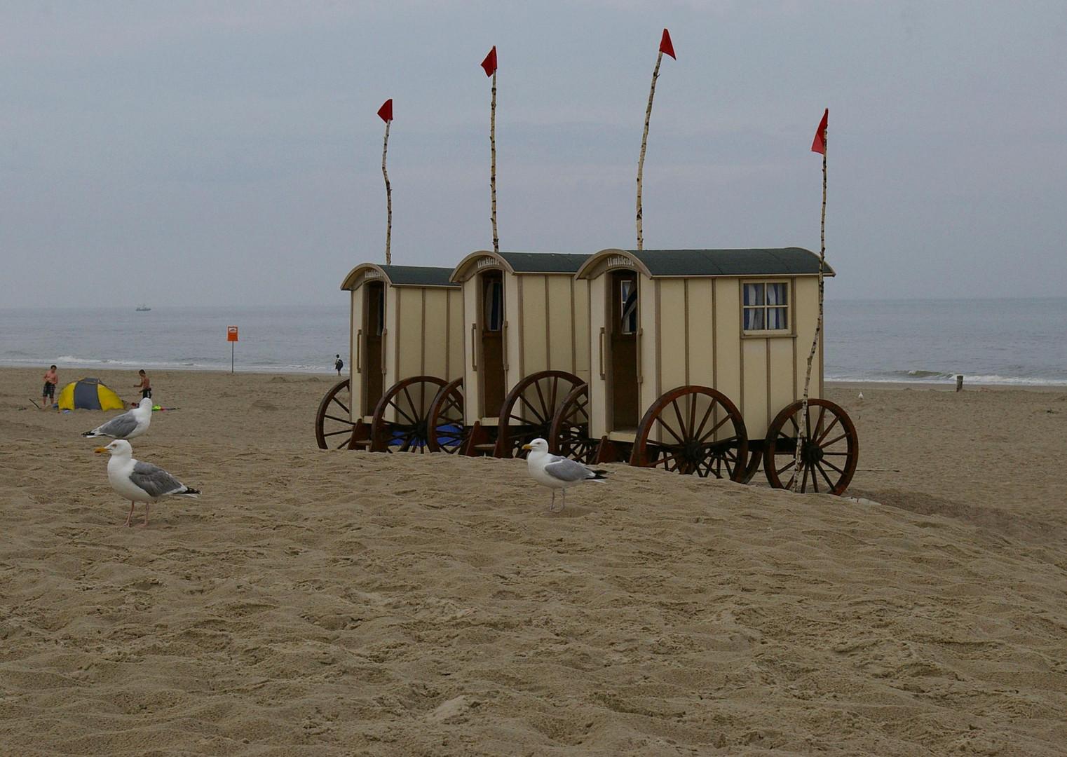 Heute kein Badewetter auf Norderney.....