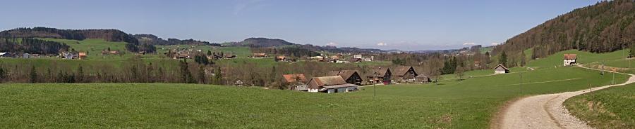 heute Nachmittag bei Ganterschwil