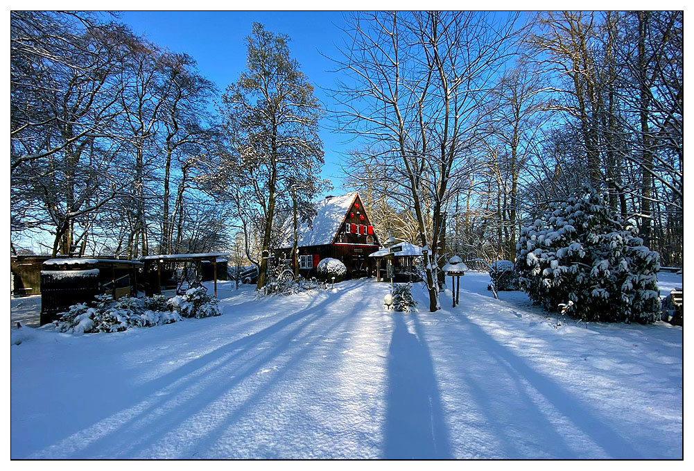 Hexenhaus im Märchenwald