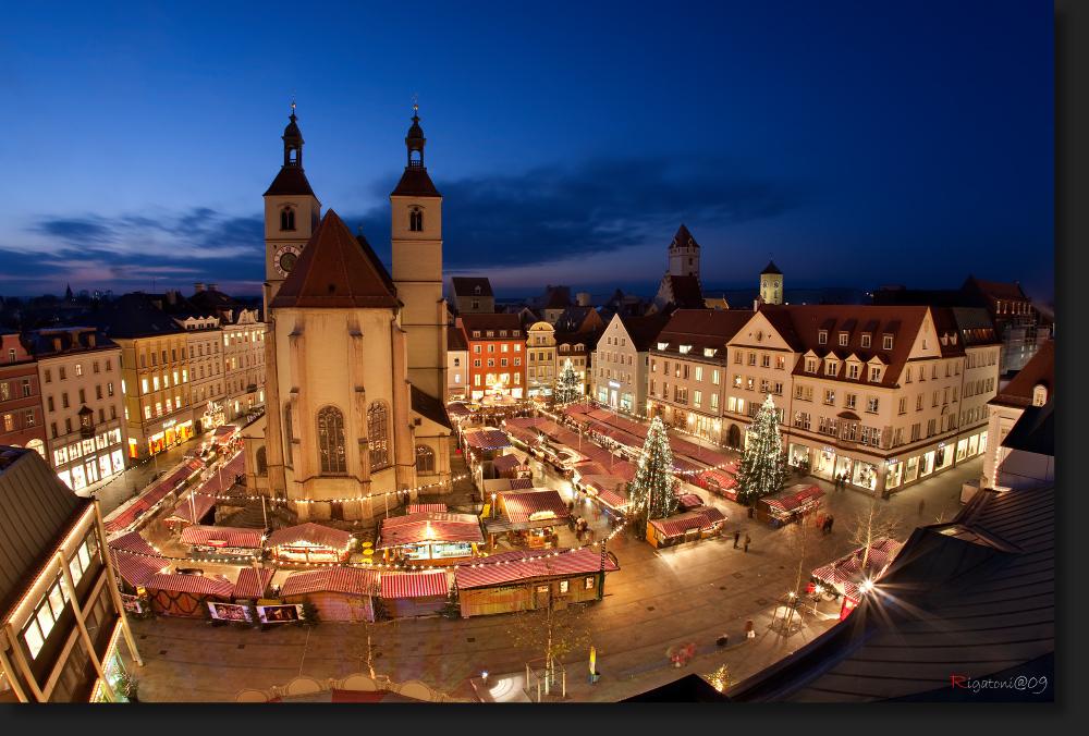 Regensburger Weihnachtsmarkt 2021
