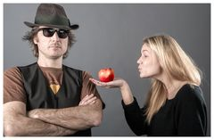 """Hey Dad """"Take the apple"""""""