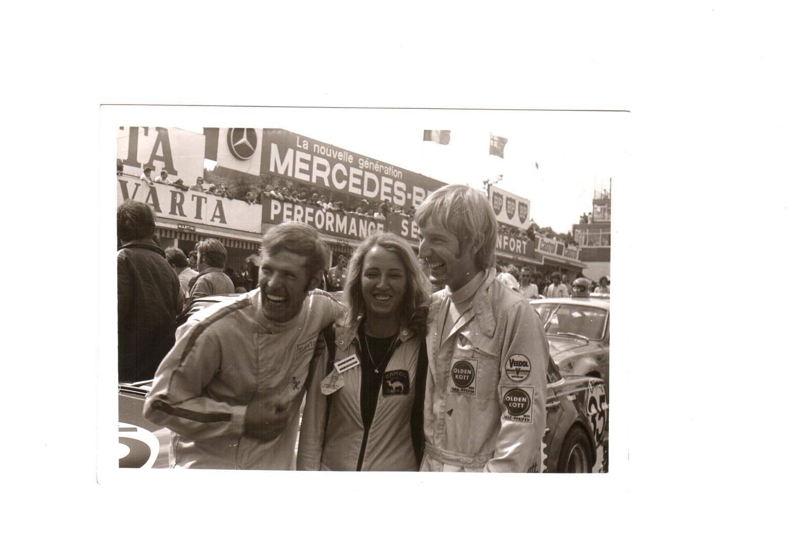 Heyer und Schickentanz 24h SPA 1971 AMG Mercedes 300 SEL