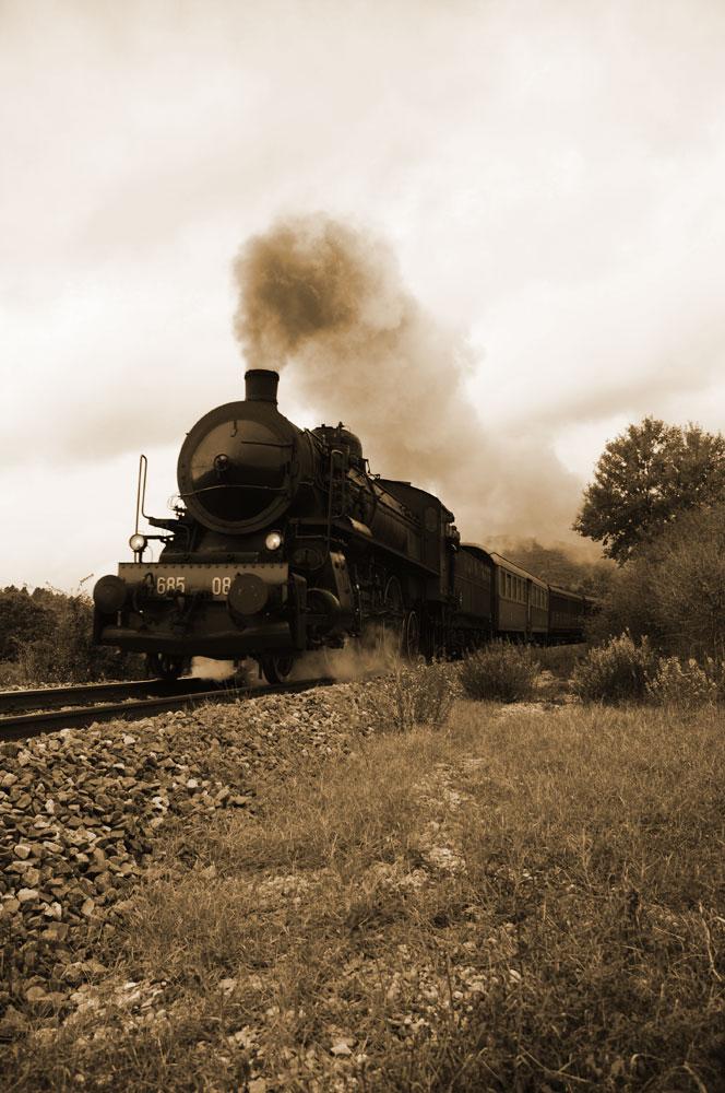 Hhhold smoked train