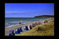 Hhiddensee'er Strand kurz vor den Ferien...