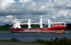 HHL Lagos   -   Schwertransportschiff