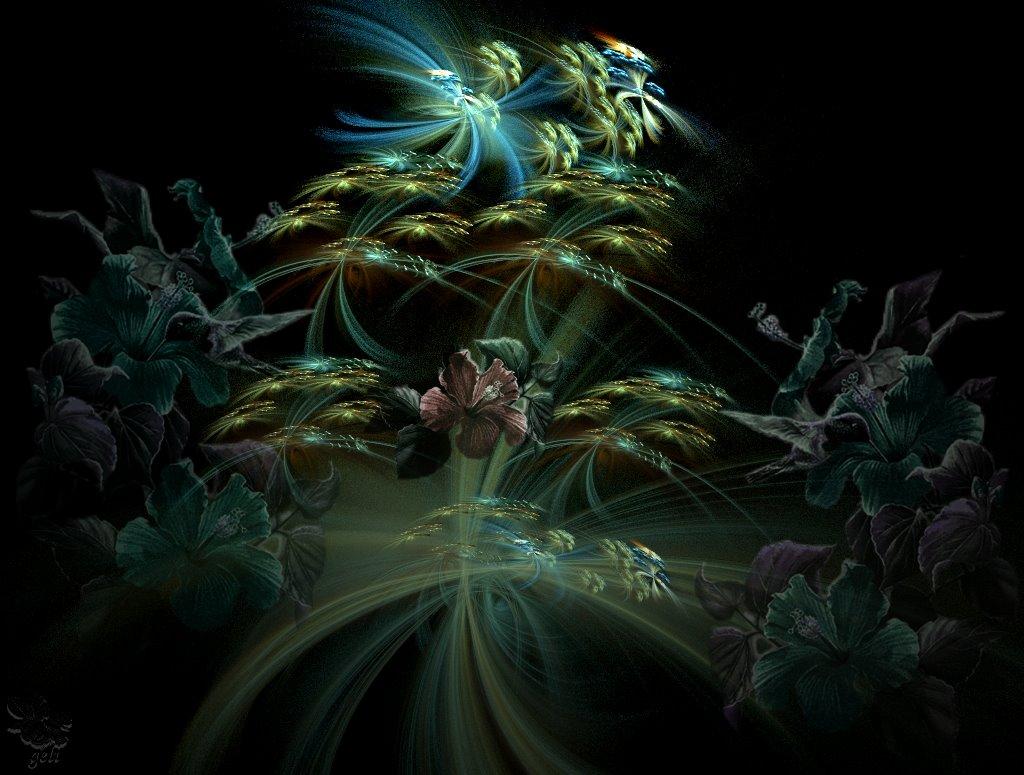 Hibiscus,Digiart