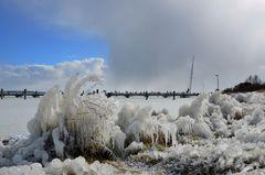 Hiddensee im Eis