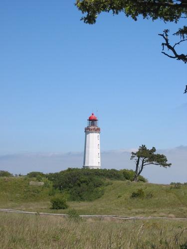 Hiddensee, Leuchtturm auf dem Dornbusch