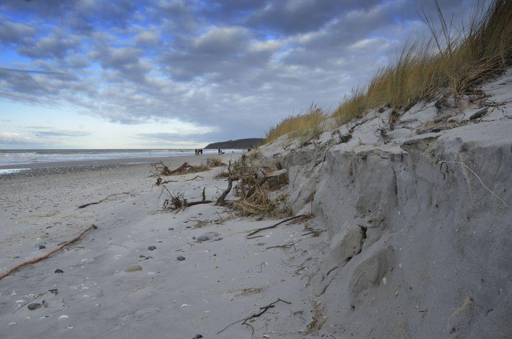Hiddensee nach der Sturmflut 2019