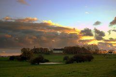 HIddensee und seine Wolken