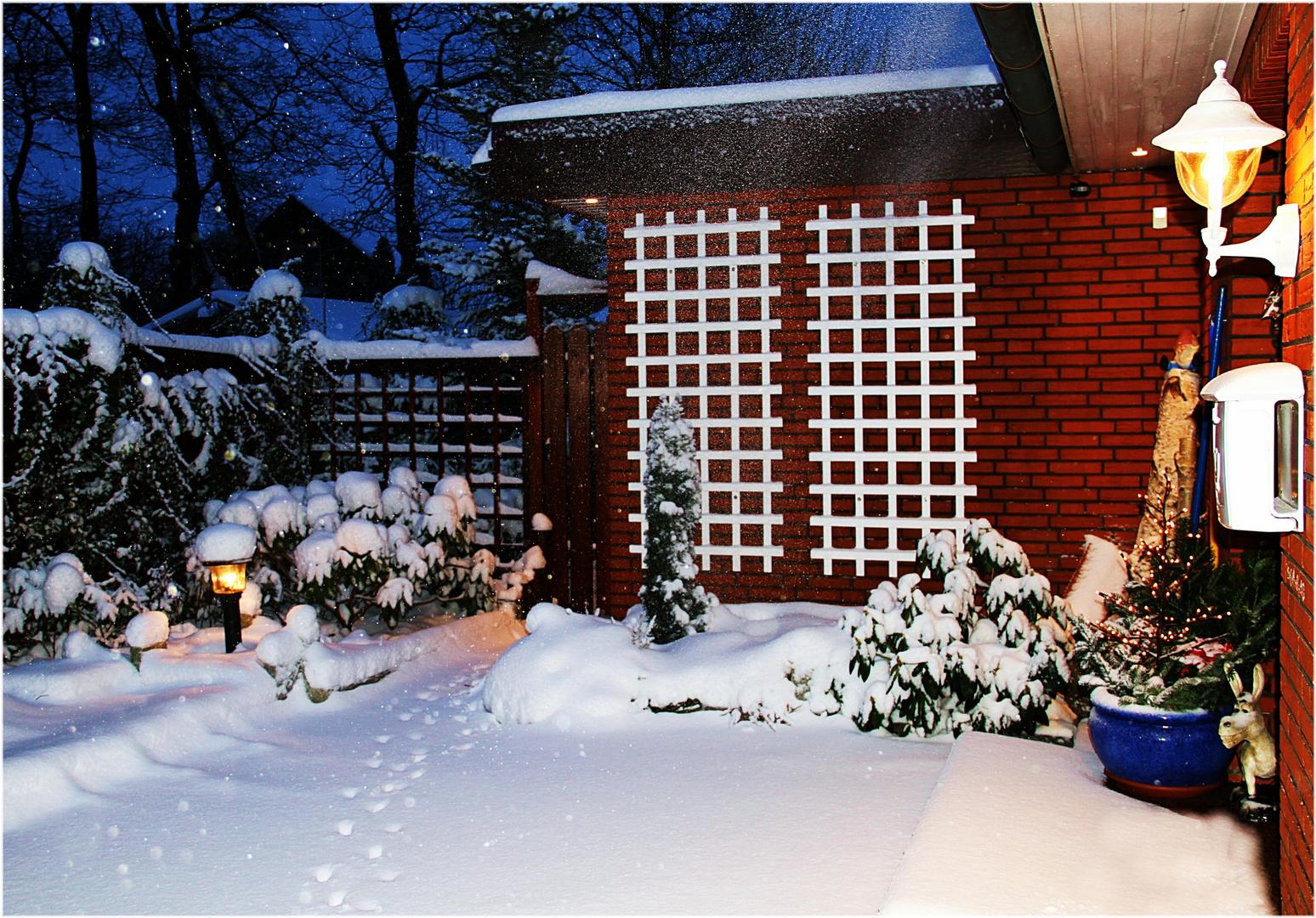 hier bin ich zu Haus ... Spuren im Schnee