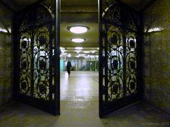 Hier geht es in den U-Bahnhof Heidelberger Platz