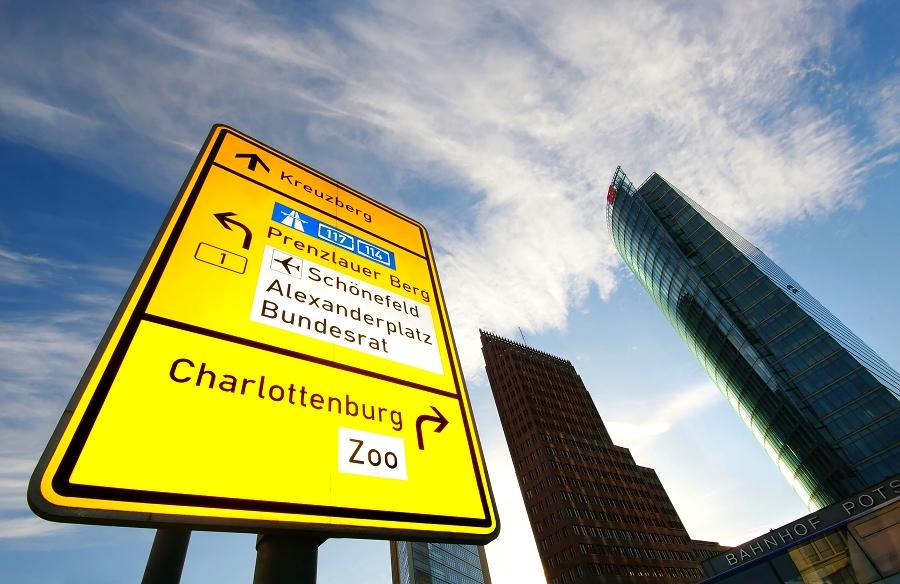 Hier gehts lang...Potsdamer Platz Berlin